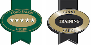 good salon training logos